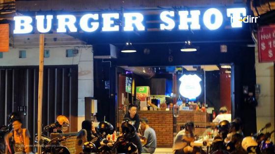 franchise burger shot