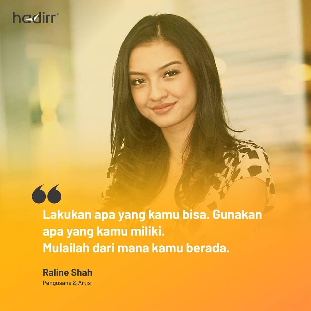 Quote Raline Shah