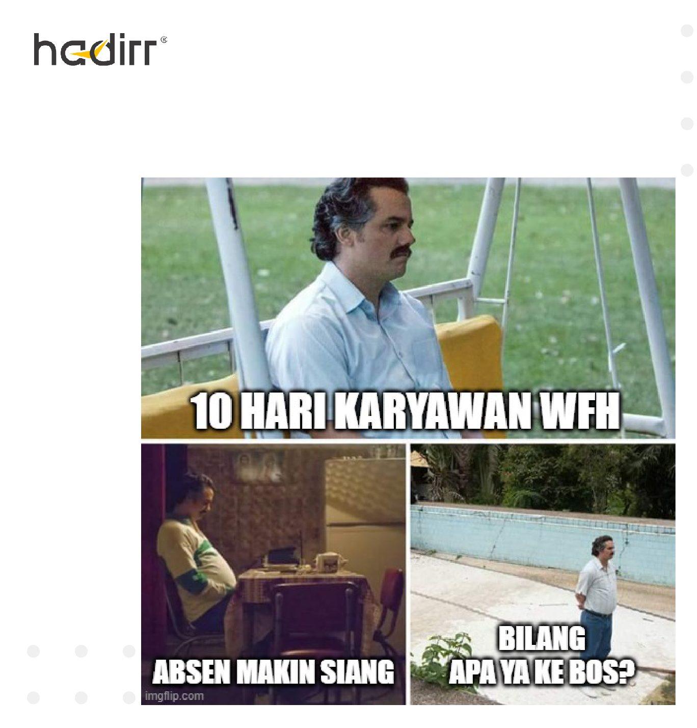 Meme WFH Terbaru
